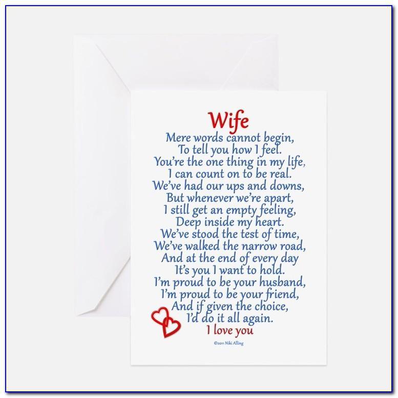 Wife Birthday Card Template