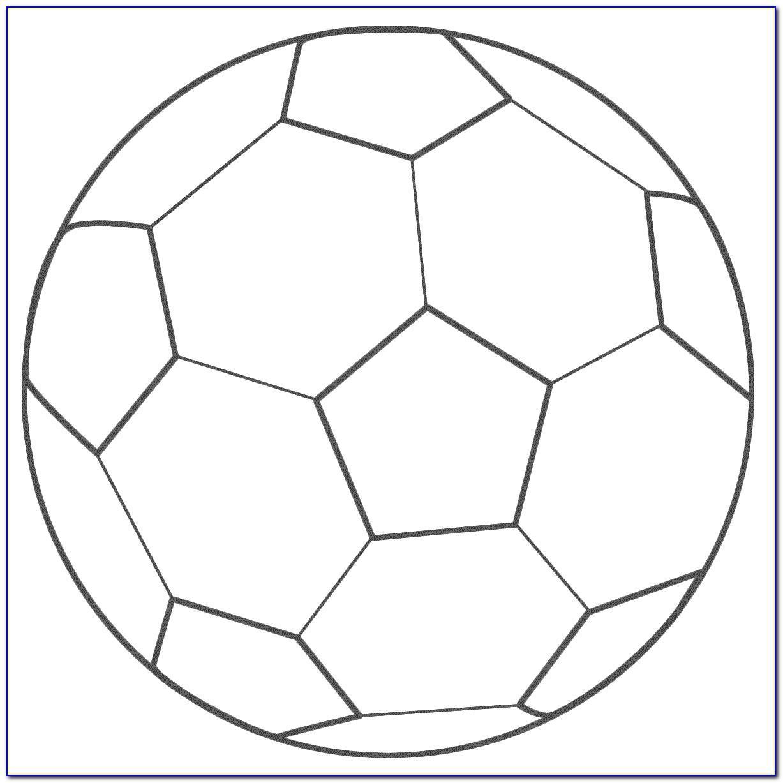 Wilton Soccer Ball Cake Template