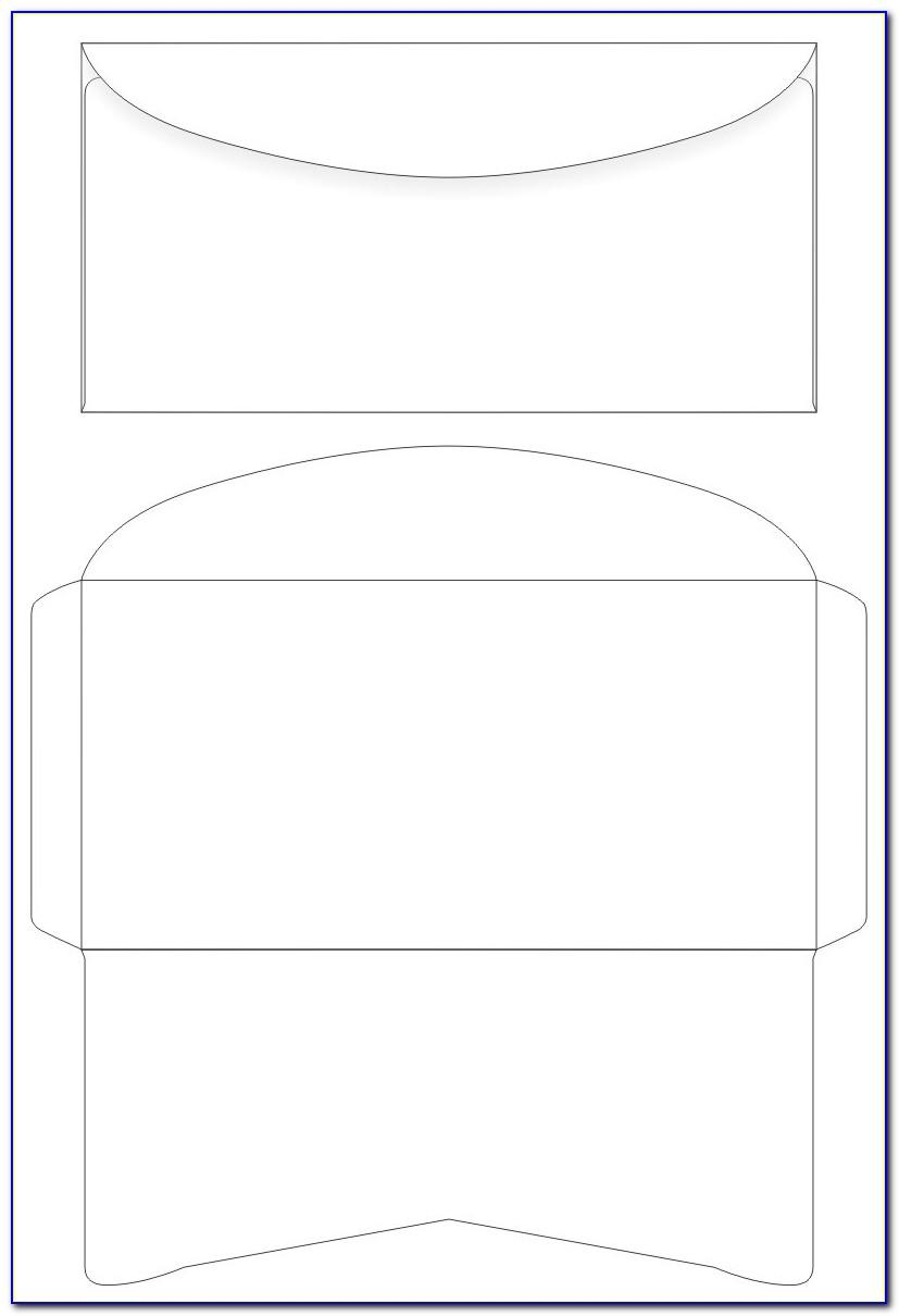 Word Template For Printing On Envelopes