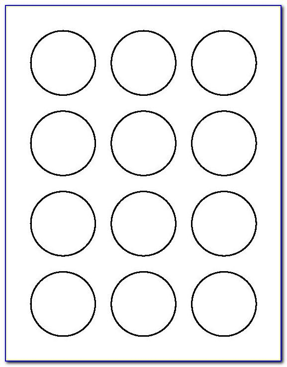 1.5 Circle Template Word