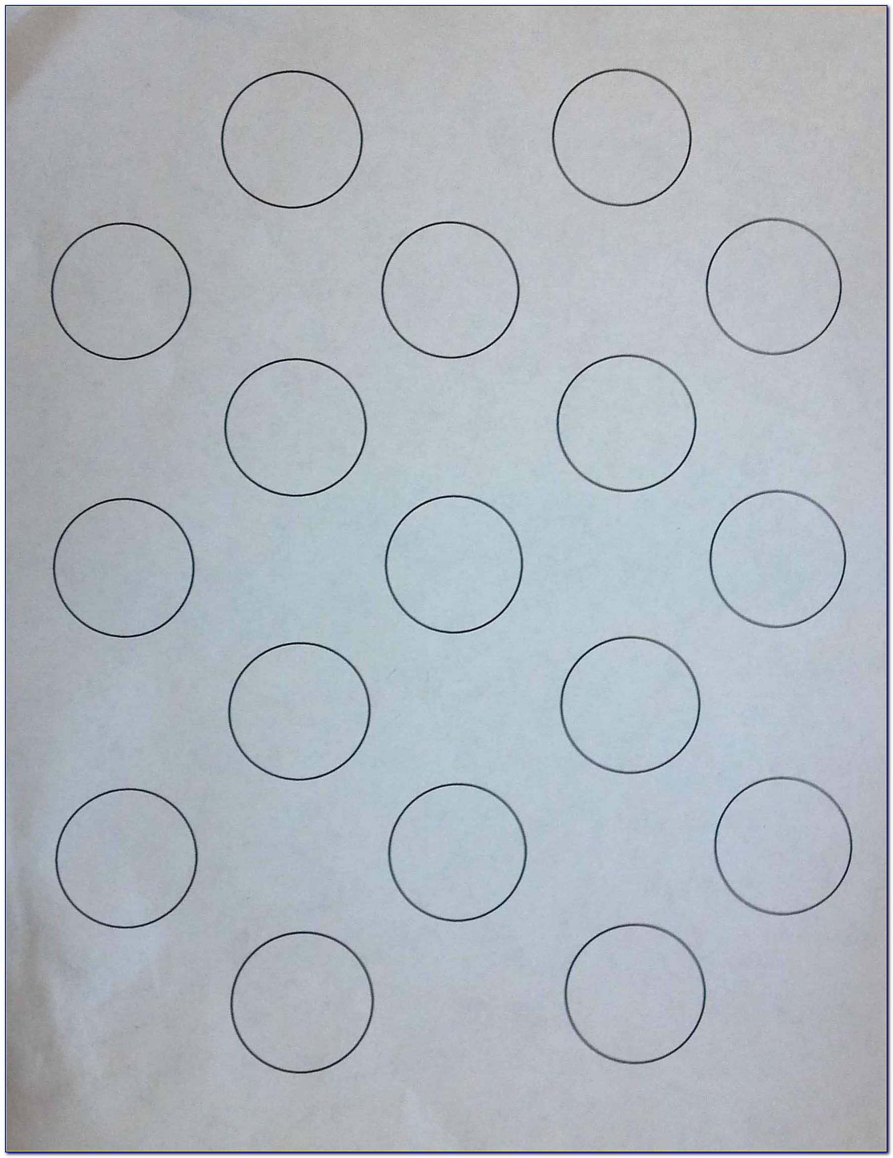 1.5 Inch Circle Template Word