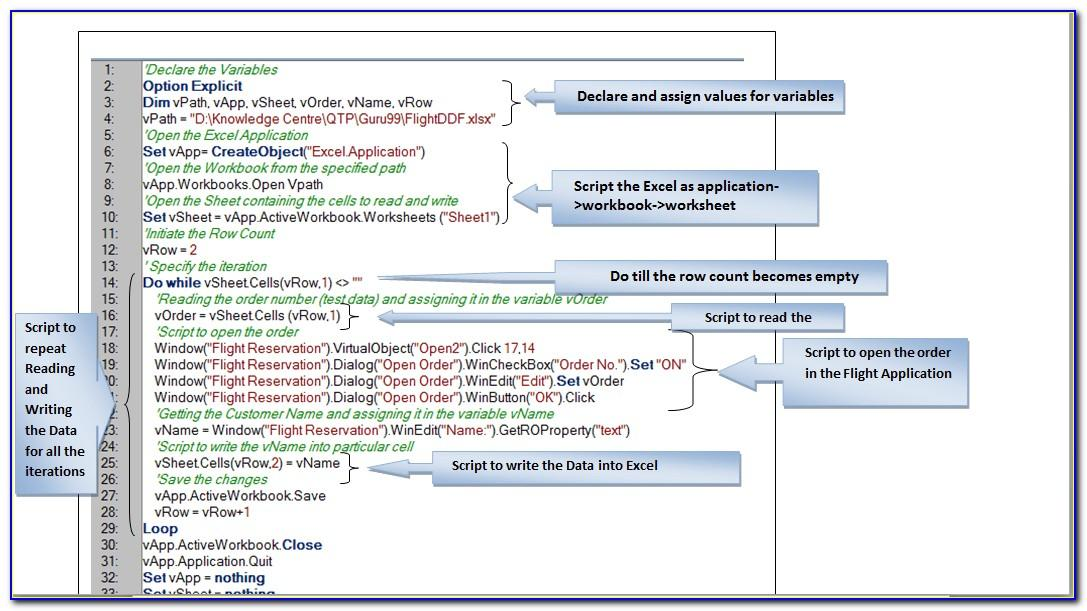 Automation Test Plan Template For Qtp