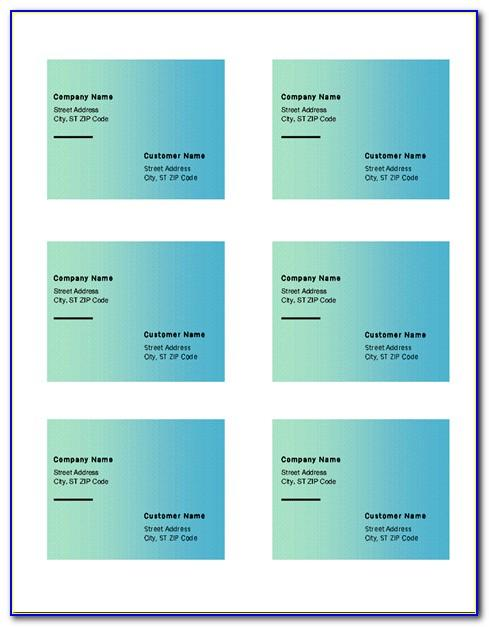 Avery Address Label Template 5264