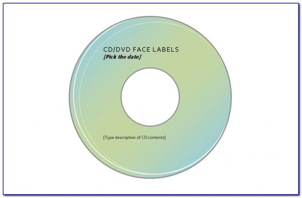 Avery Cd Labels Template 28669