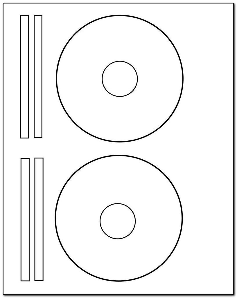 Avery Cd Labels Template 5697