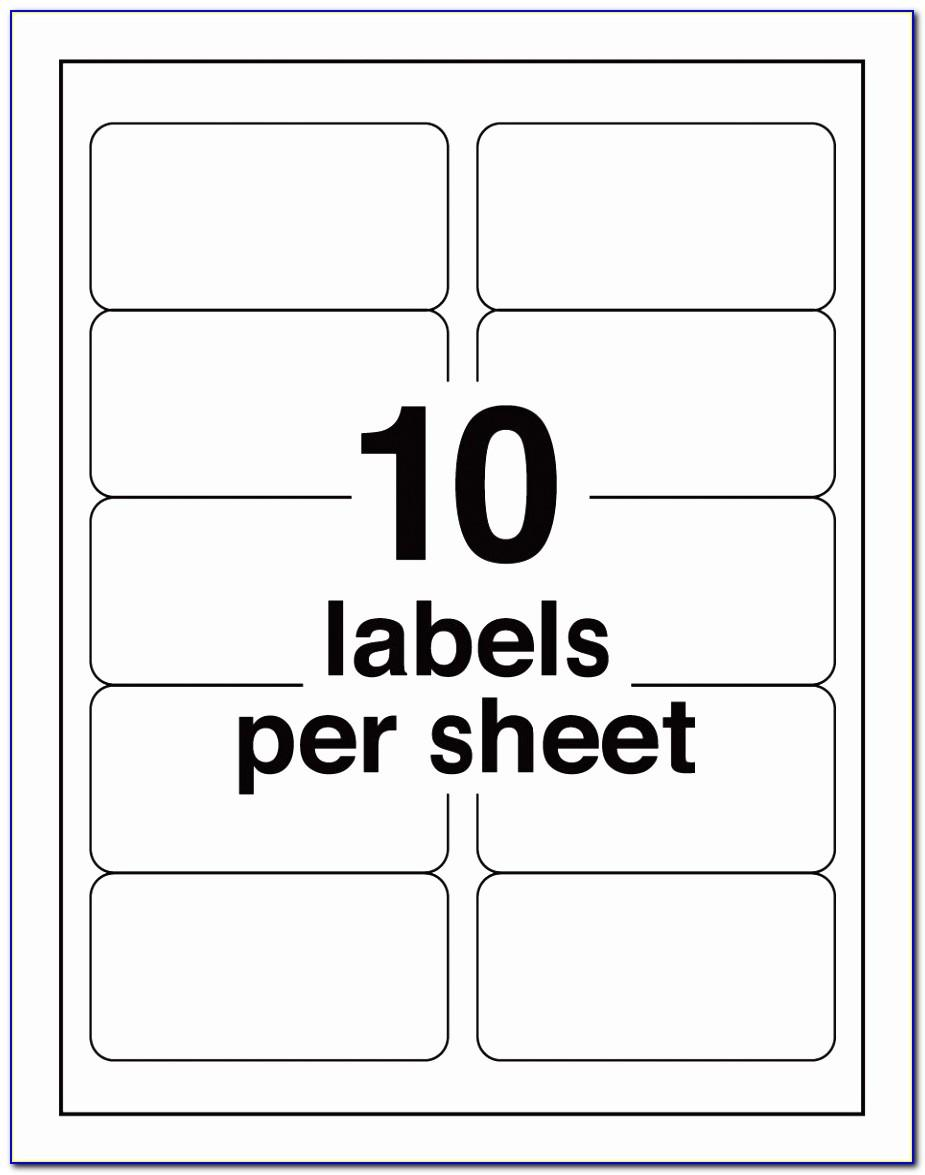 Avery Label Template 30 Per Sheet
