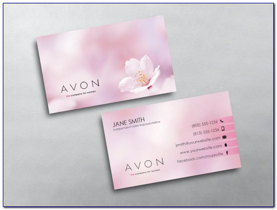 Avon Business Card Template Free
