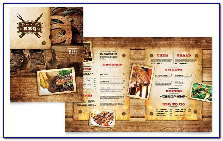 Bbq Menu Template Download