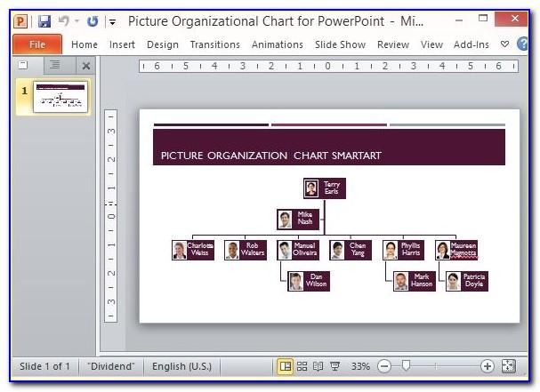 Best Org Chart Powerpoint Template
