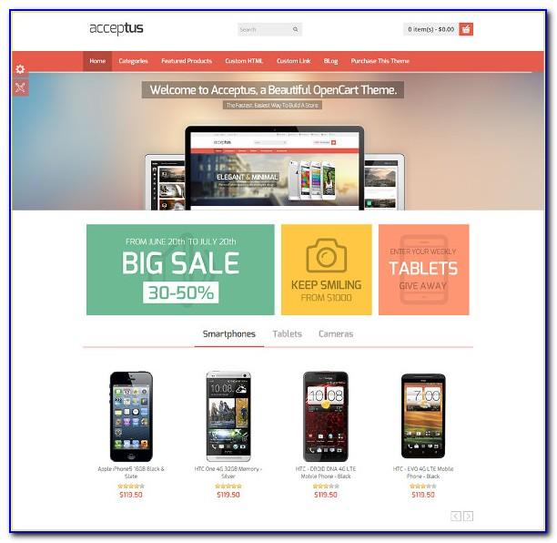 Best Responsive Ecommerce Website Templates Free Download