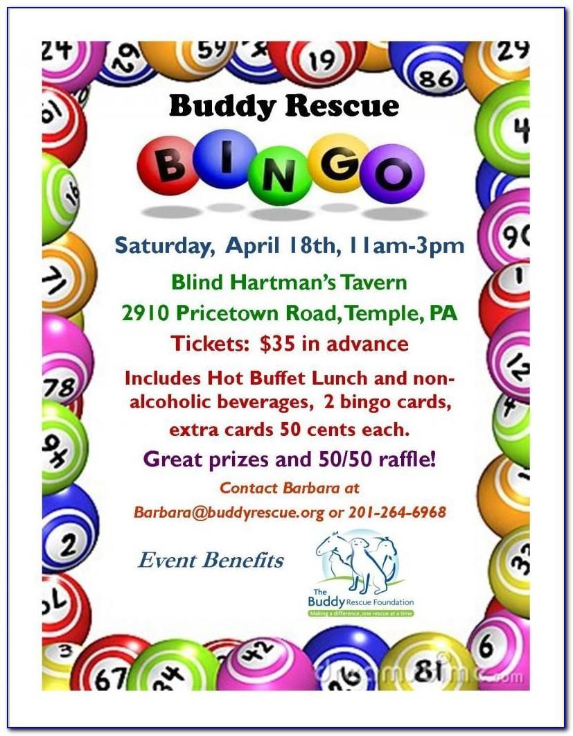Bingo Invitation Template