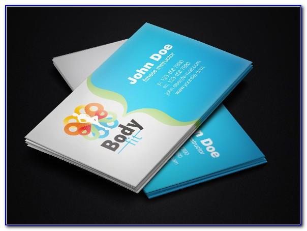Business Card Design Ai Template Free Download
