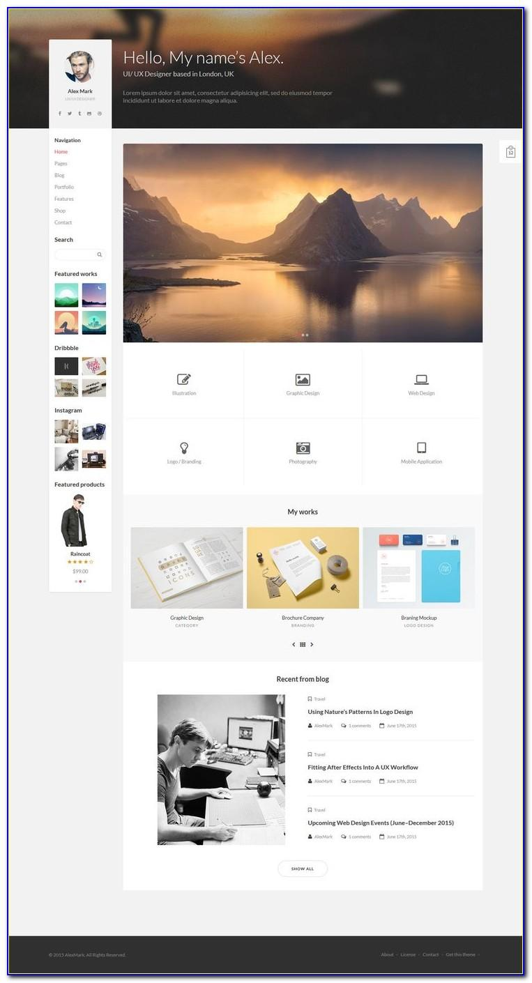 Business Website Templates Free Download Themeforest