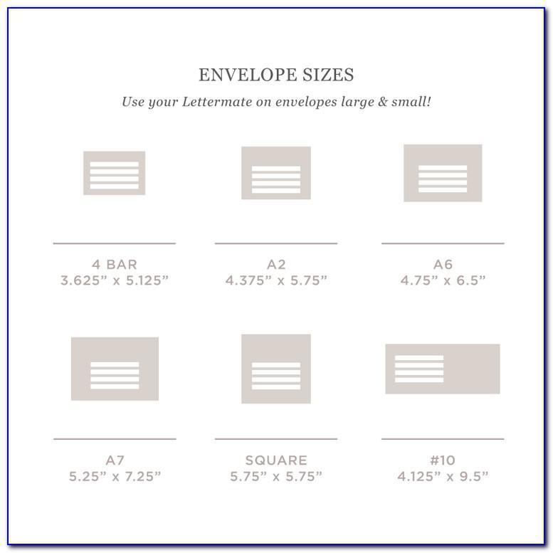 Calligraphy Template For Addressing Envelopes