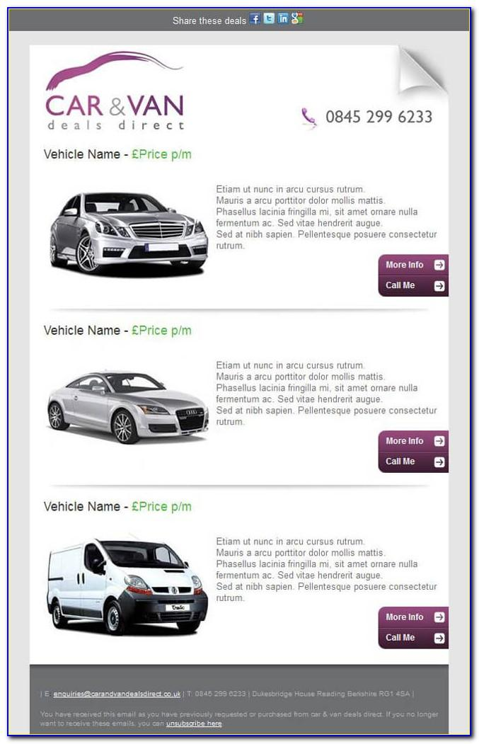 Car Dealership Bdc Email Templates