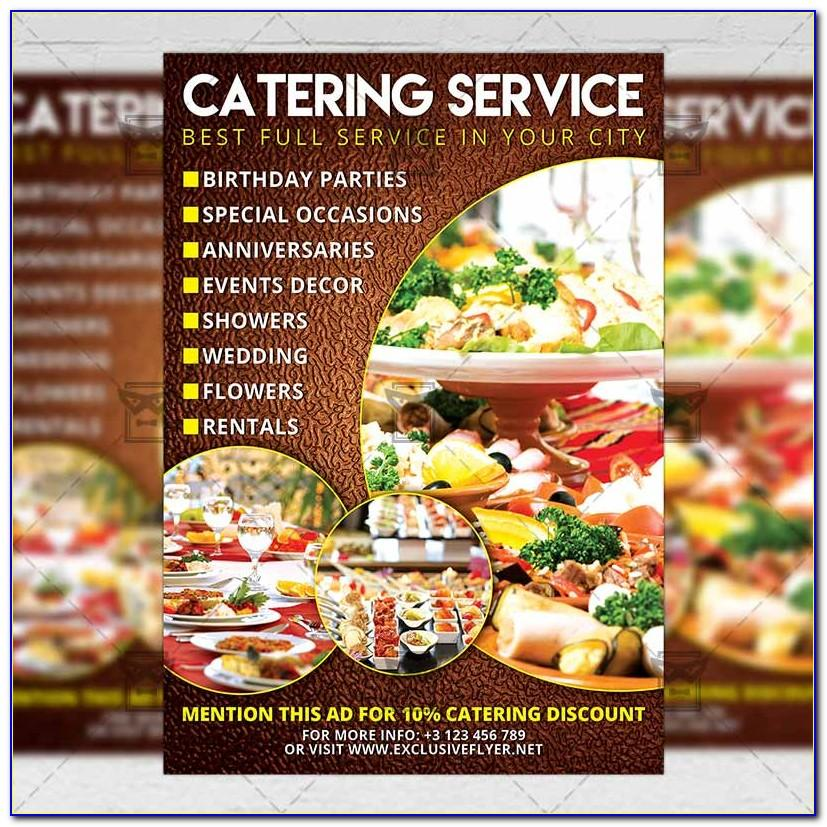 Catering Flyers Templates Free