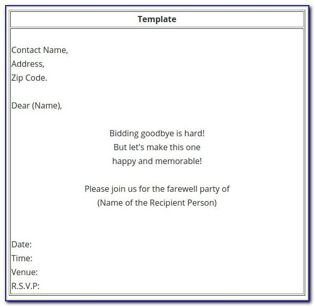 Christmas Lunch Invitation Email Template