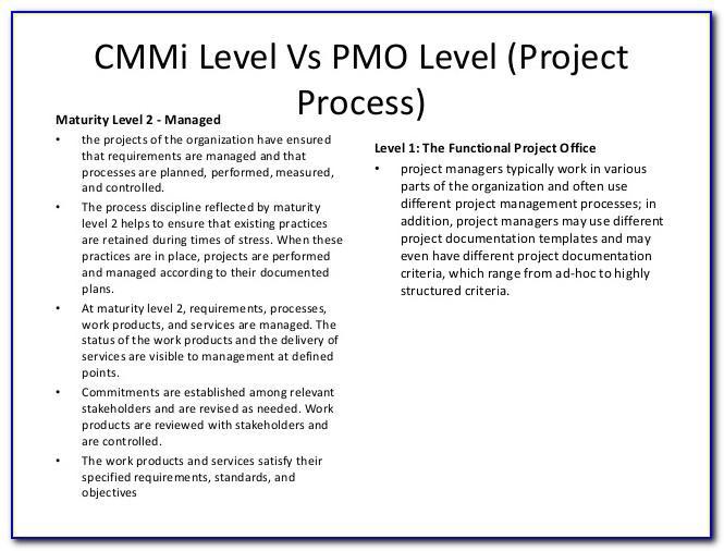Cmmi Level 3 Documentation Templates