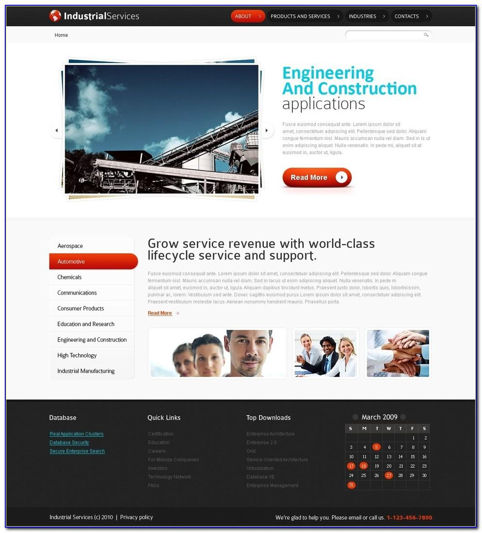 Construction Company Website Templates Html5 Free Download