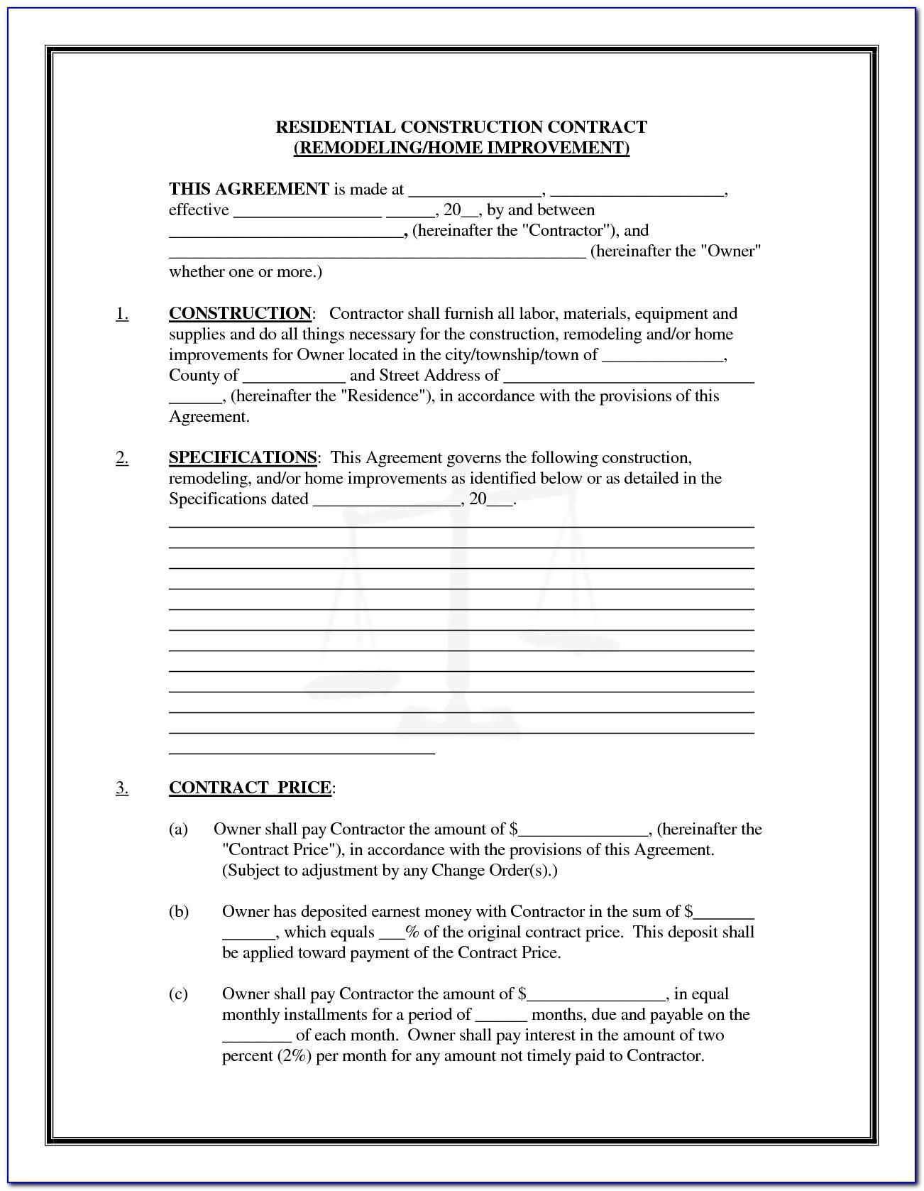 Contractors Agreement Template Nz