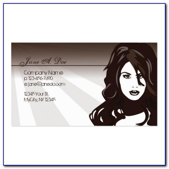Cosmetology Business Cards Templates