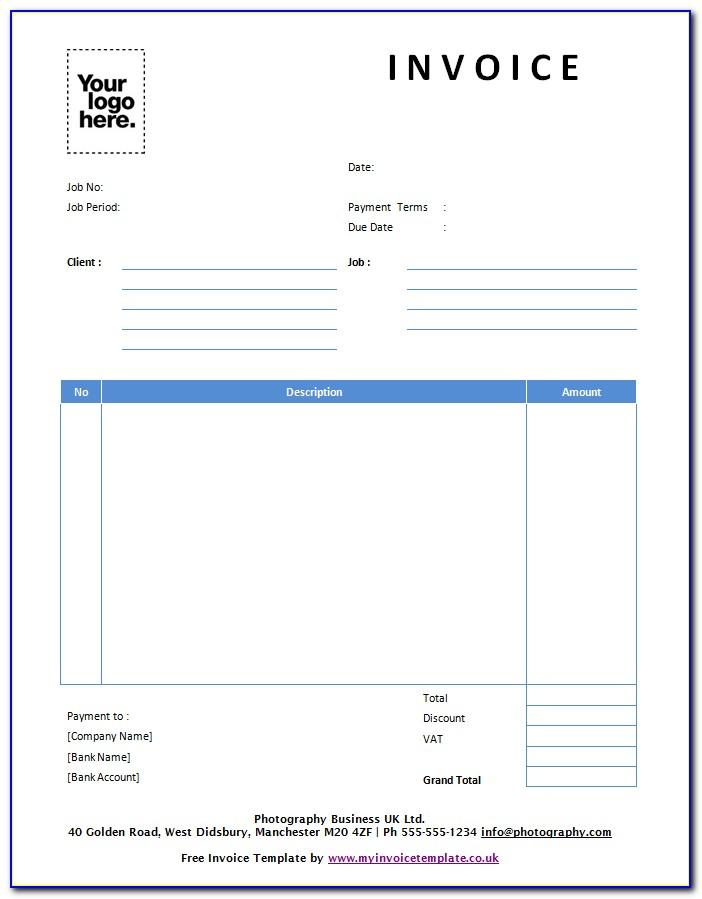 Decorating Invoice Examples