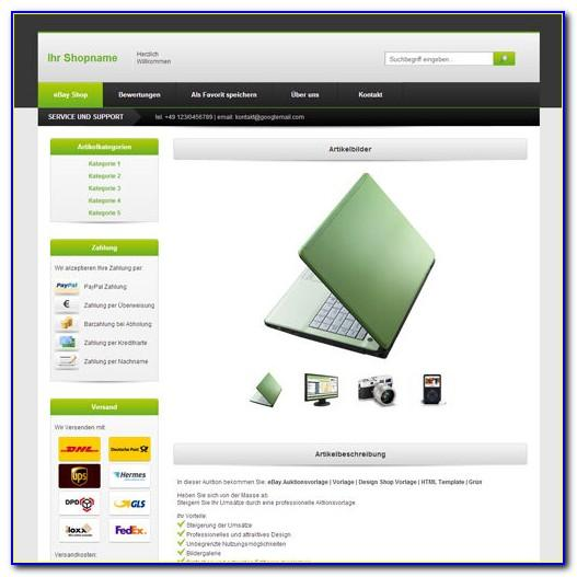 Ebay Shop Design Templates Free