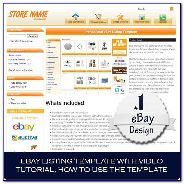Ebay Store Design Templates Free