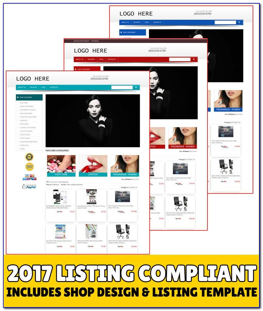 Ebay Store Template Design Tutorial