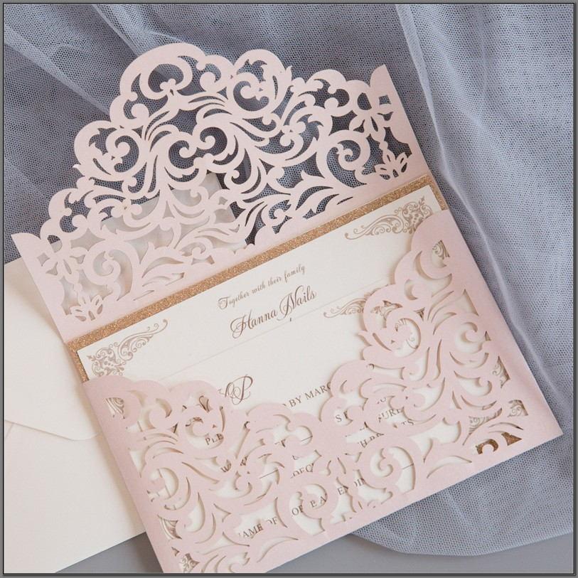 Elegant Wedding Invitations Cards