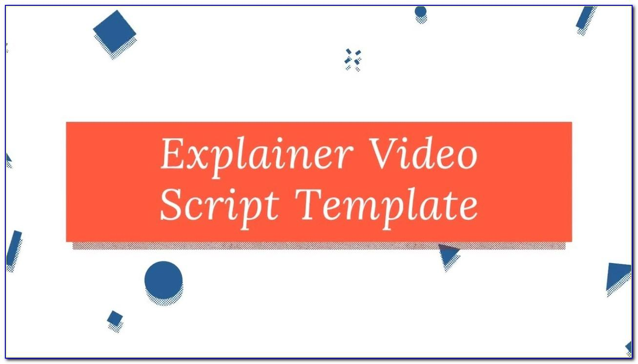Explainer Video Template Free