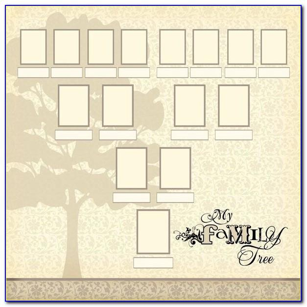 Family Tree Scrapbook Templates Free