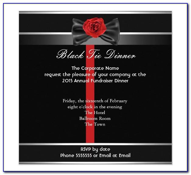 Formal Lunch Invitation Email Sample