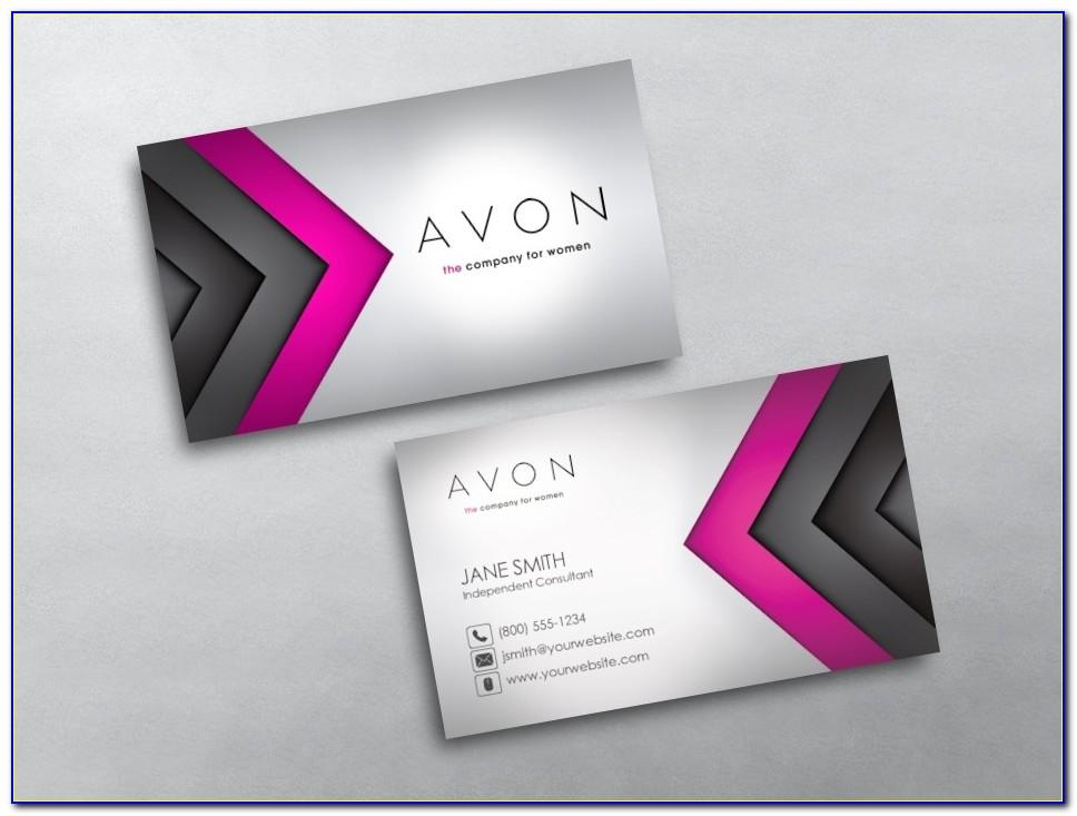 Free Avon Business Card Template Downloads