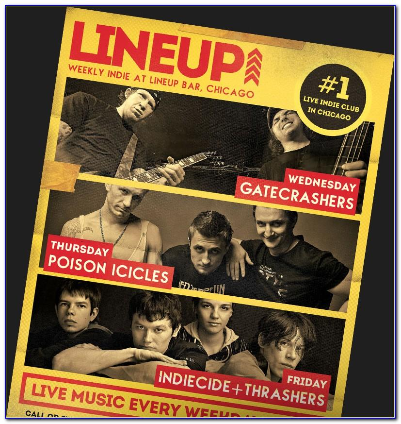 Free Band Flyer Templates Psd