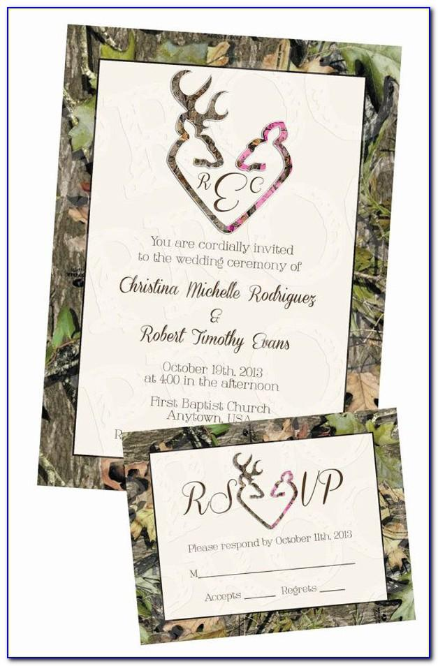 Free Camo Birthday Invitation Templates