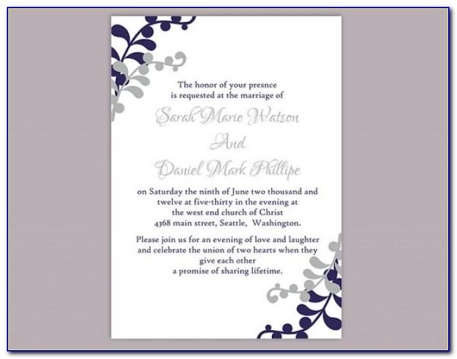 Free Download Wedding Invitation Templates Microsoft Word In Hindi