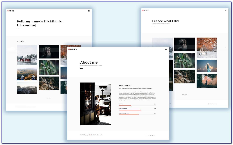Free E Portfolio Templates