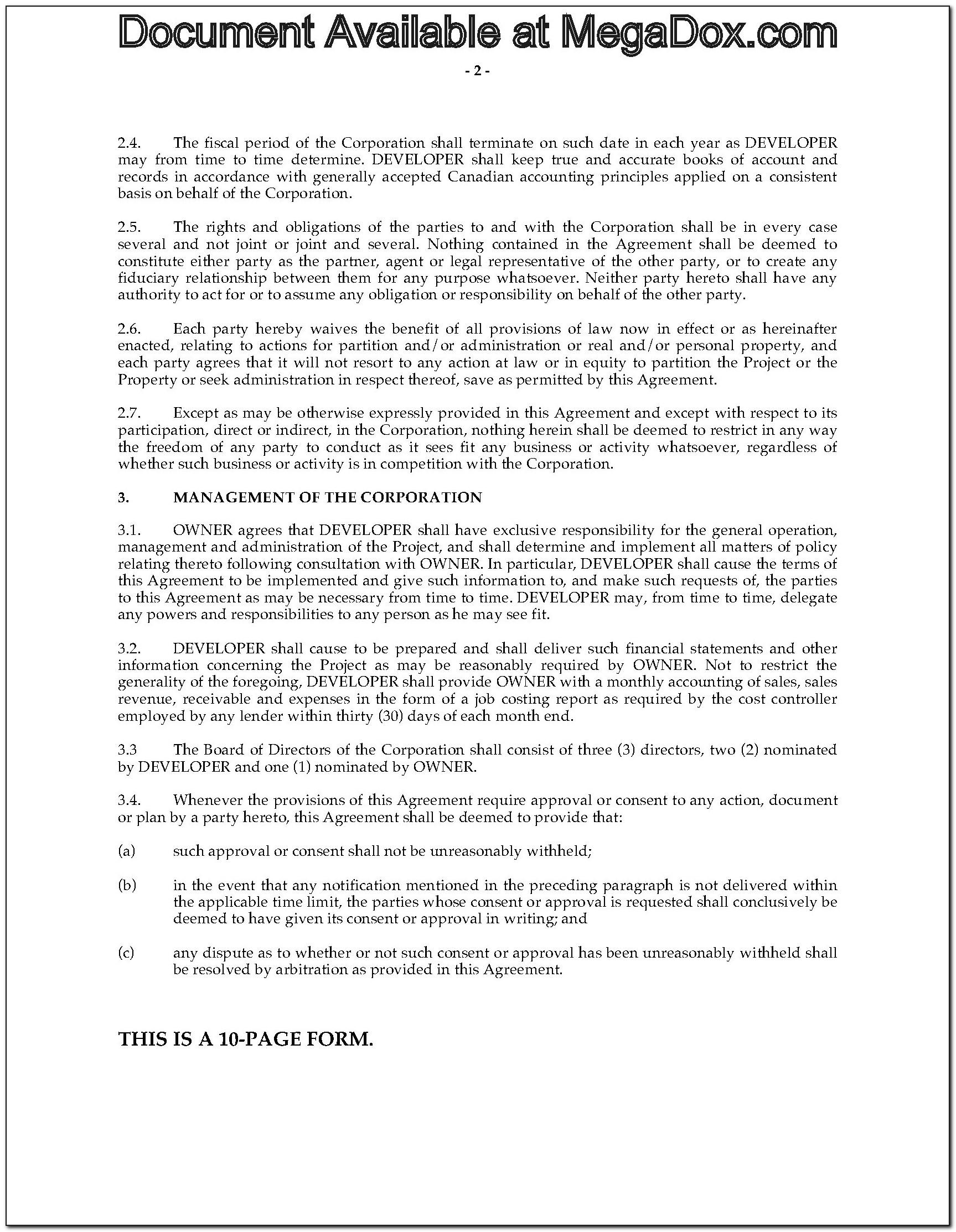 Free Legal Contracts Templates
