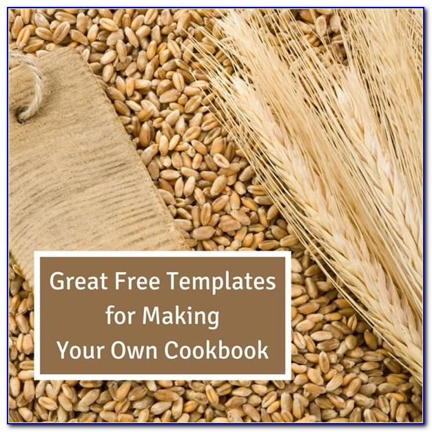 Free Make Your Own Cookbook Template Downloads