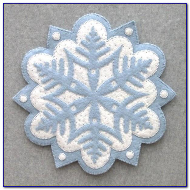 Free Penny Rug Ornament Patterns