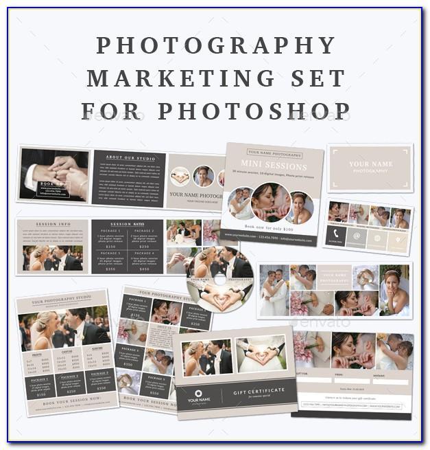 Free Photoshop Marketing Templates For Photographers