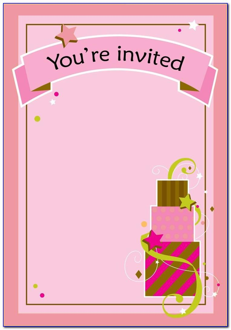 Free Printable 16th Birthday Party Invitation Templates