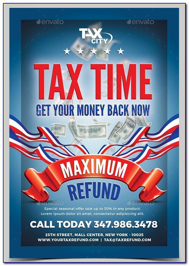 Free Tax Preparation Flyers Templates