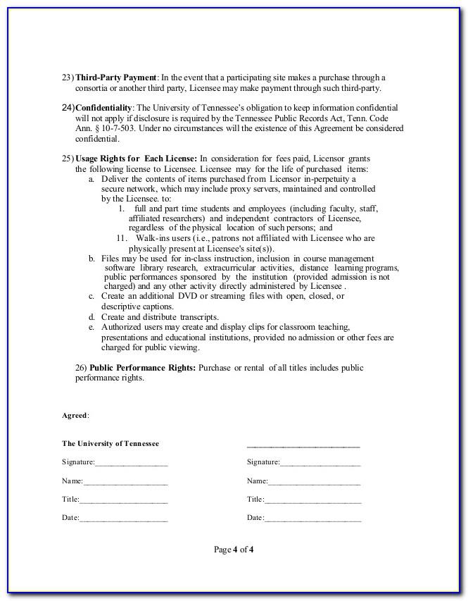 Gdpr 3rd Party Agreements Template