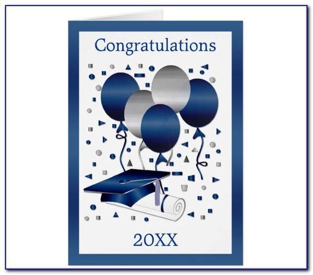 Graduation Congratulations Card Templates
