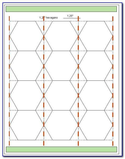 Hexagon Template Quilt