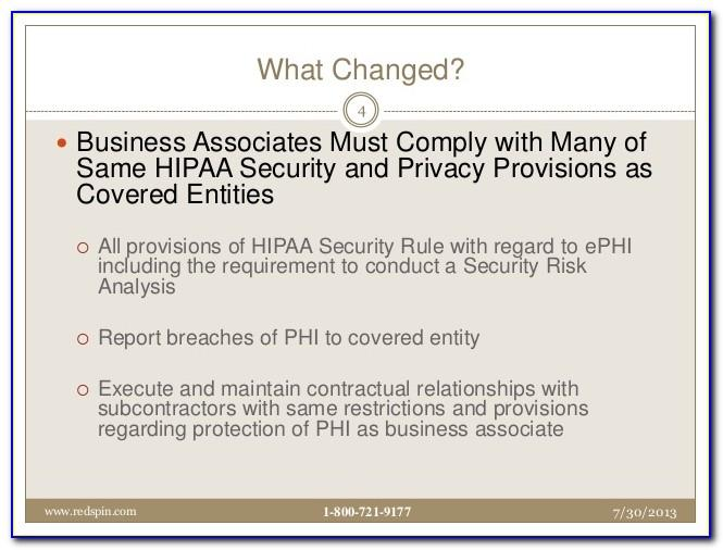 Hipaa Security Policy Templates