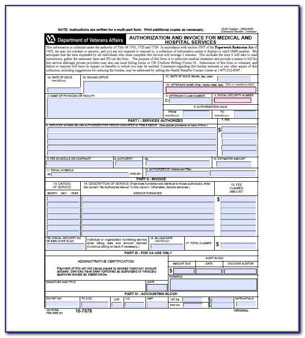 Hospital Invoice Example