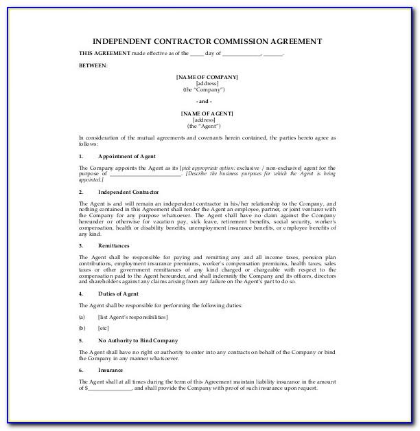 Insurance Broker Agreement Sample